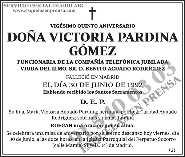 Victoria Pardina Gómez